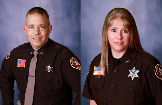 Manitowoc County Sheriff's Office Name Officer and Corrections Officer of the Year
