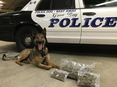 Five K-9's Join Green Bay Police Force