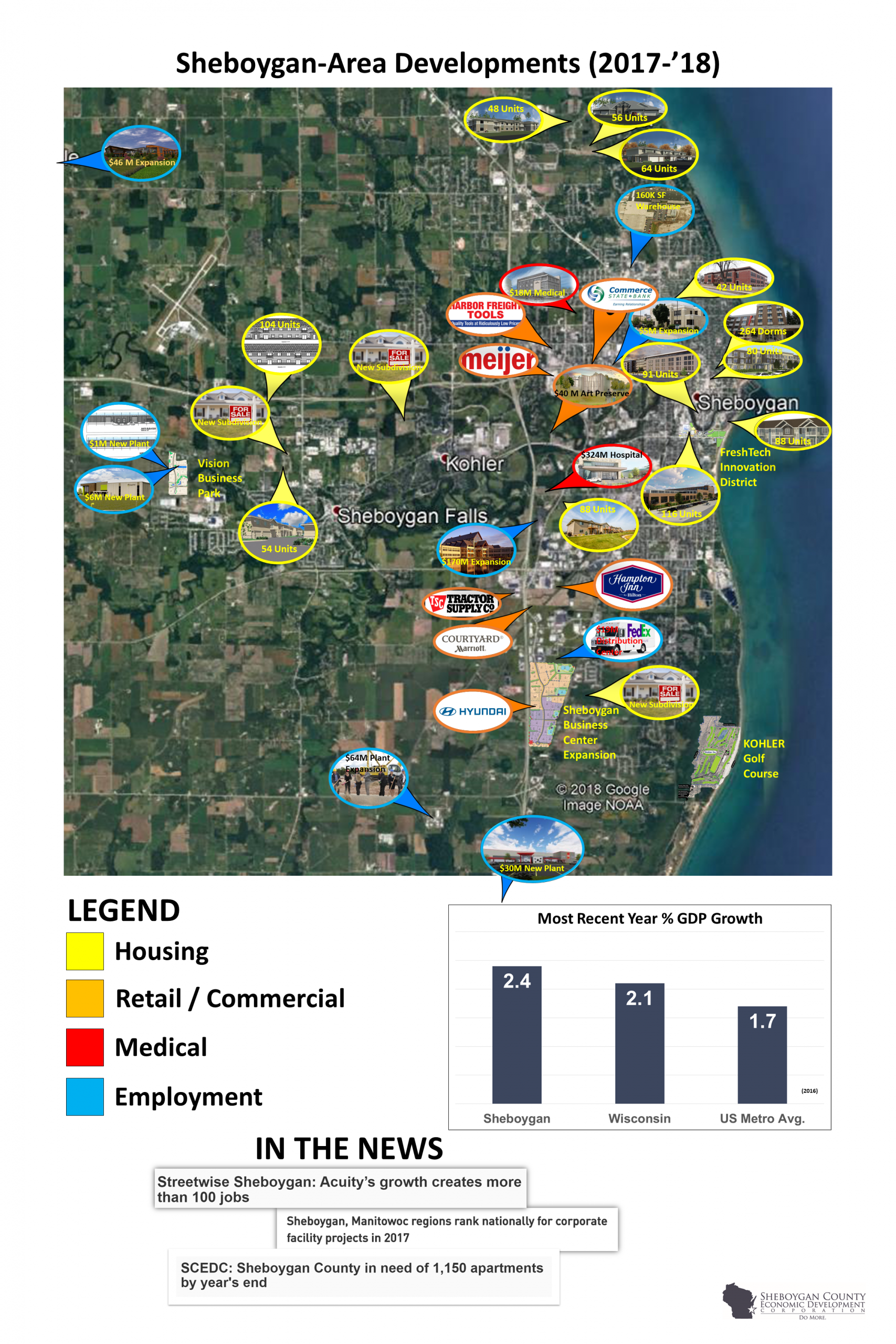 Sheboygan:  Wisconsin's Emerging Economic Powerhouse