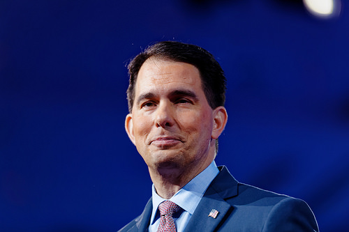 Wisconsin Governor Attends White House Ceremony On Jobs