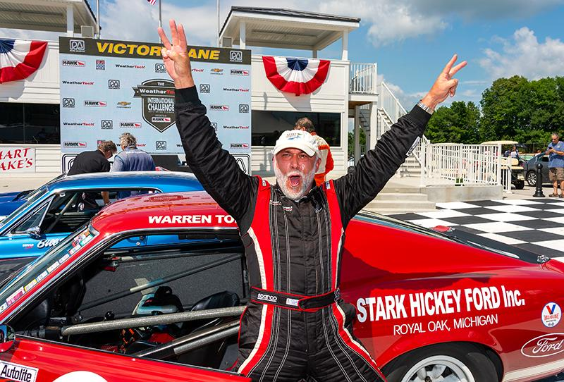 Vintage Cars Highlighted The Weathertech International Challenge
