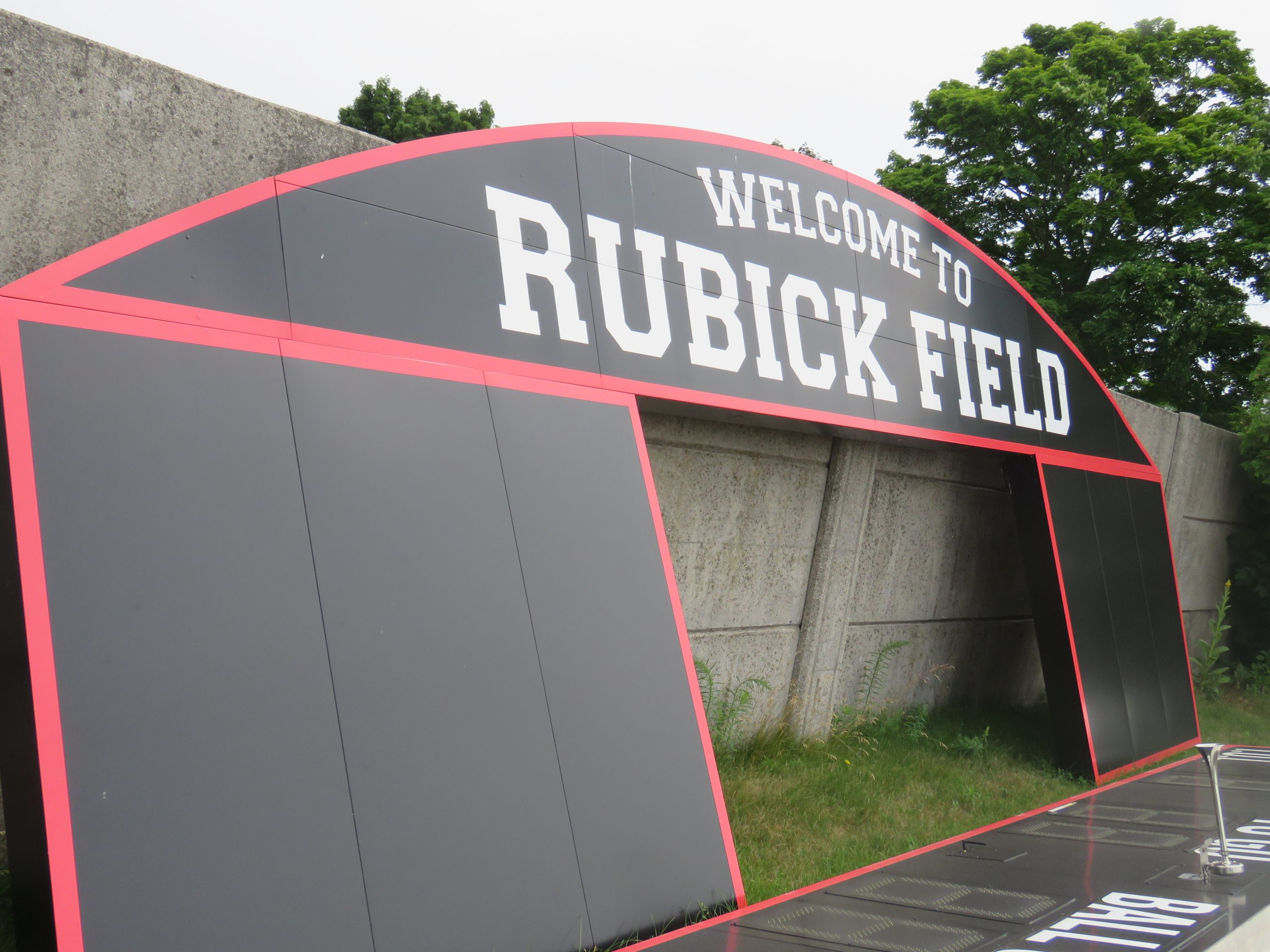 Rubick Field Receiving New Turf this Week