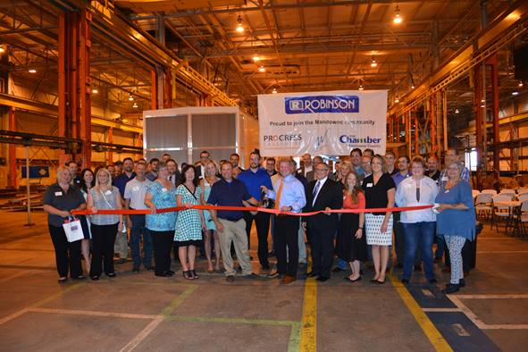 Robinson Metal Holds  Ribbon Cutting Tuesday