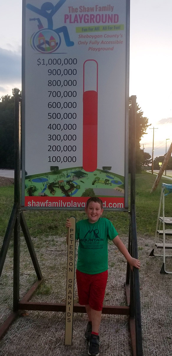 Shaw Family Playground Challenge Grant