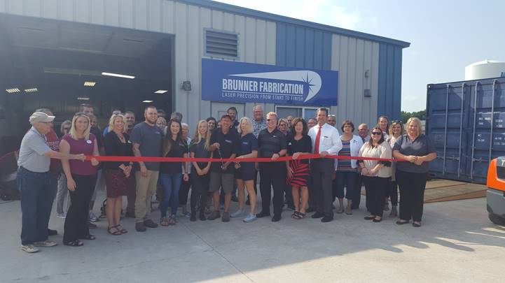 Brunner Fabrication Ribbon Cutting