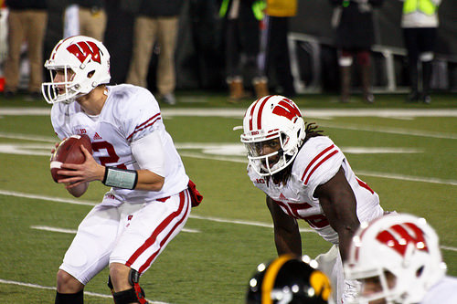 Wisconsin Badgers Playing A Lot Of Football Under The Lights