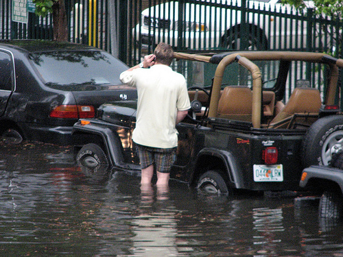 AAA Issues Warning About Flood-Damaged Cars