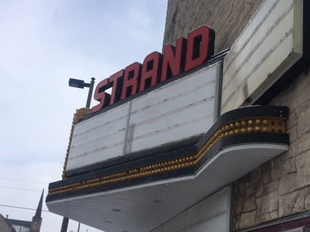 Mike Howe Continuing Work in Former Strand Theater