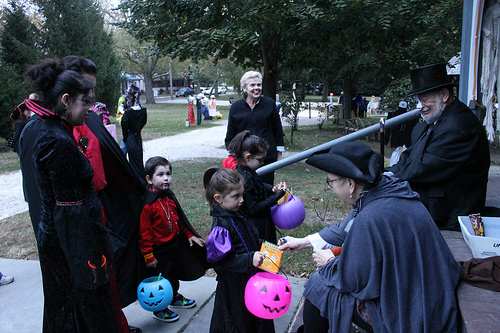 Local Halloween Trick or Treat Times