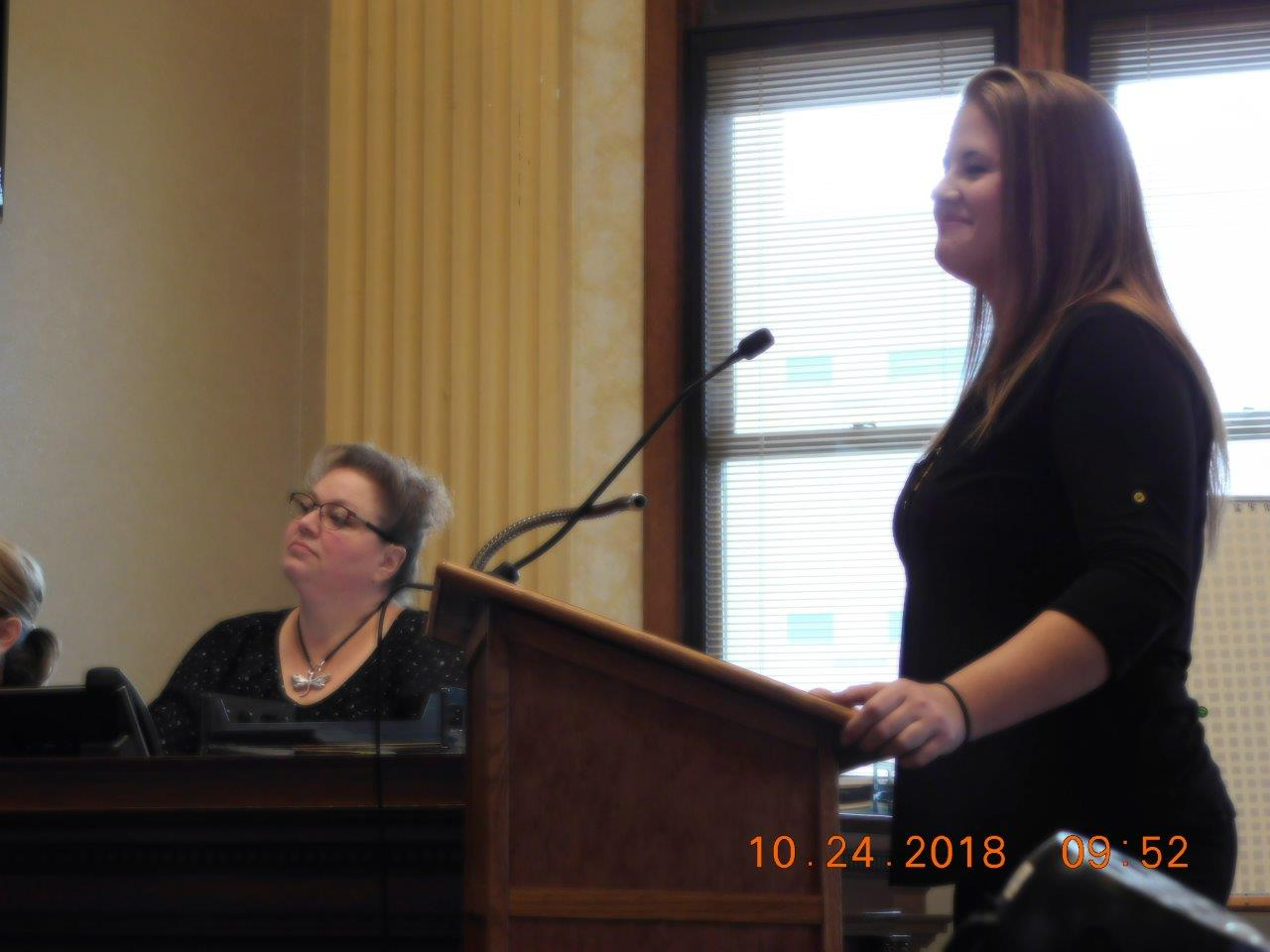 The Manitowoc County Drug Court Program Honors First Graduate