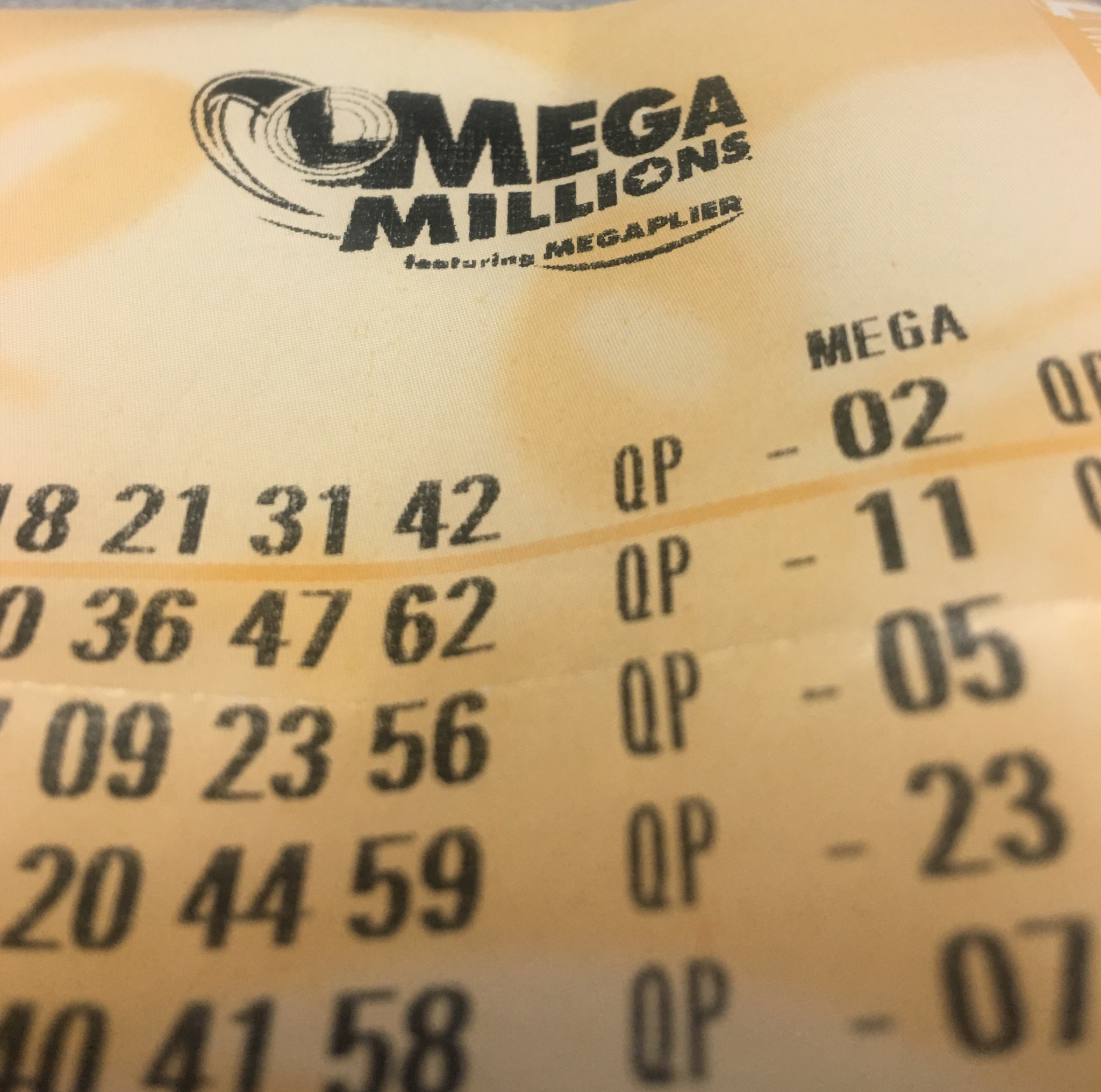Winning Mega Millions Ticket was Sold, According to Lottery Office
