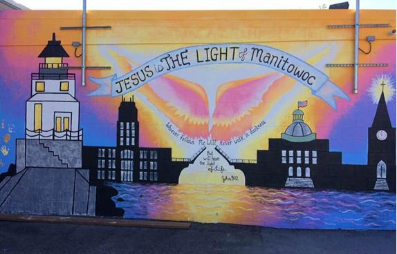 The Light Teen Center Unveil Mural