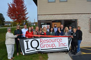 Ribbon Cutting At IQ Resource Group