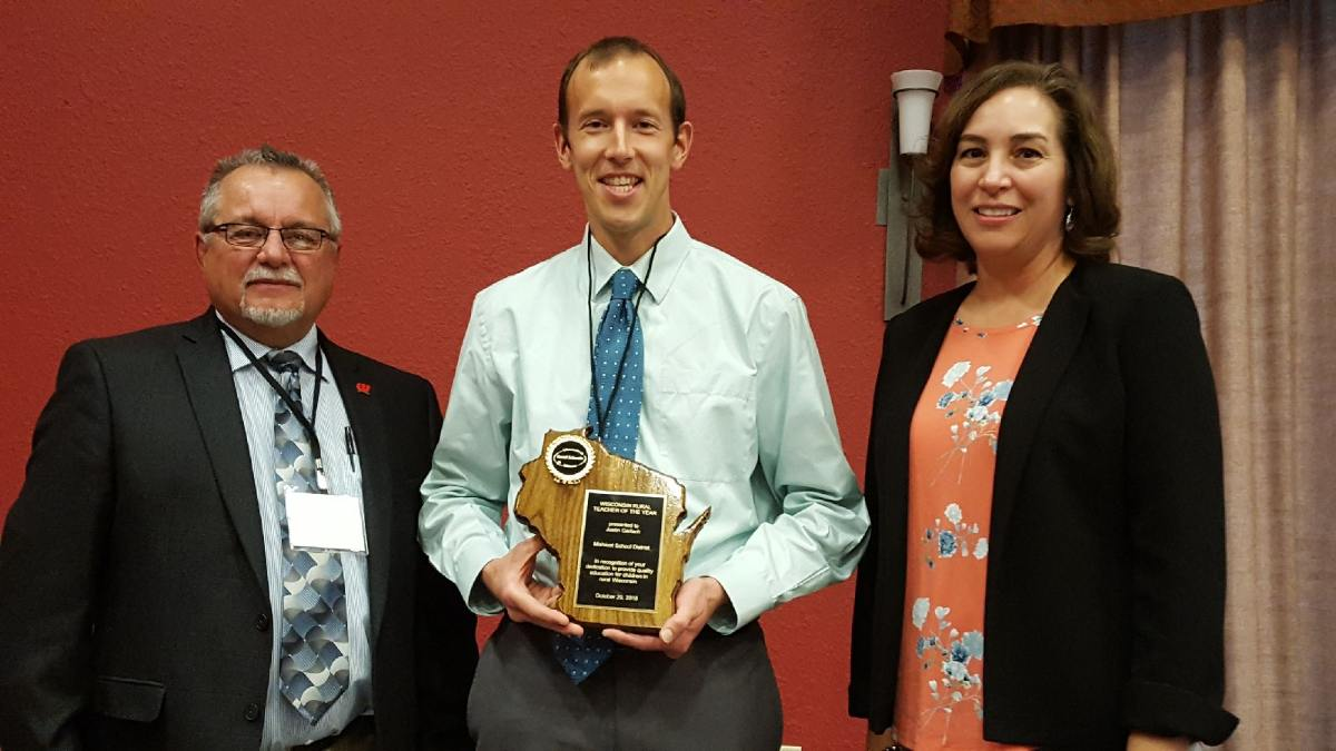Mishicot School District Educator Honored as Teacher of the Year