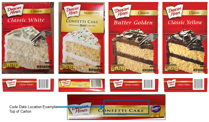 Duncan Hines Recalls Boxes Of Cake Mix That Could Be Contaminated