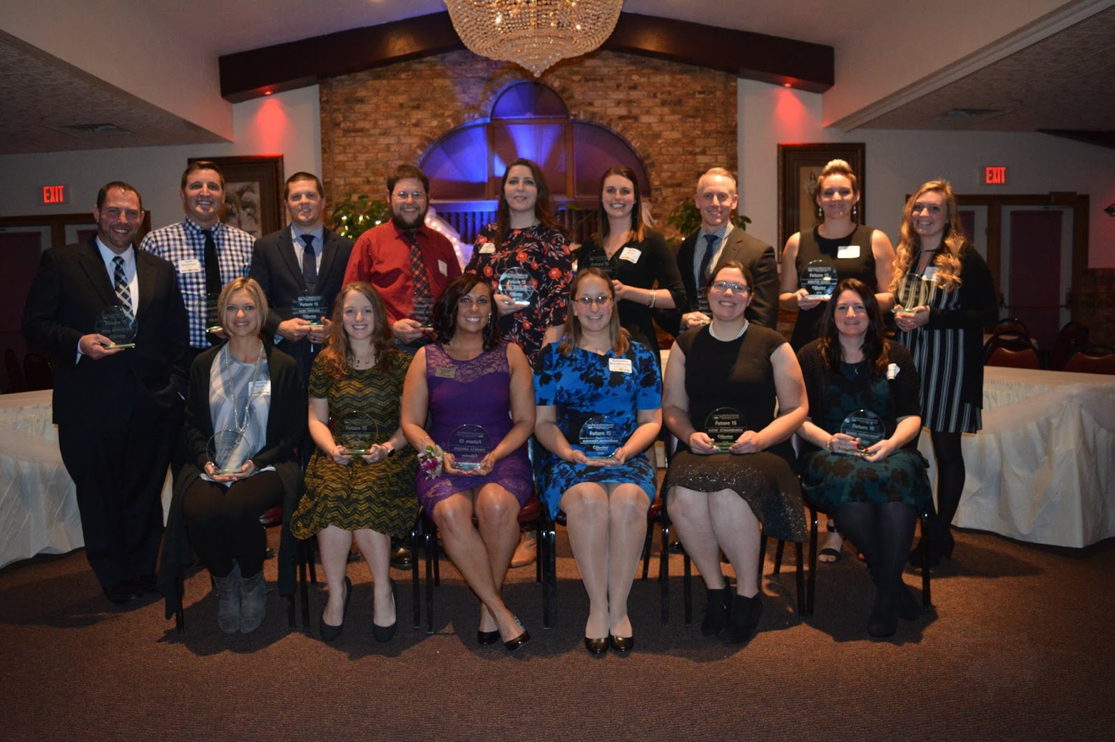 Manitowoc County's Young Professional Group Recognizes Future 15 Award Winners