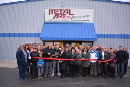 Metal Art of Wisconsin Holds Ribbon Cutting