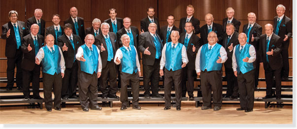 Clipper City Chordsmen at Silver Lake College Tonight