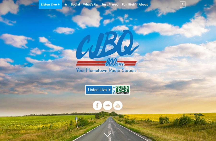Welcome to our new CJBQ website!