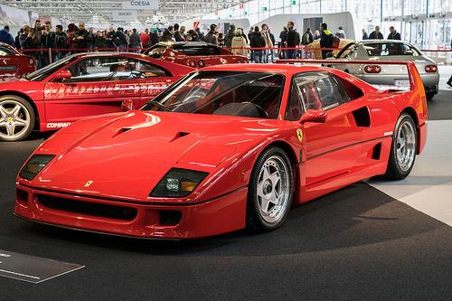 Eric Clapton's 2004 Ferrari goes on the auction block..Eric talks Ferrari
