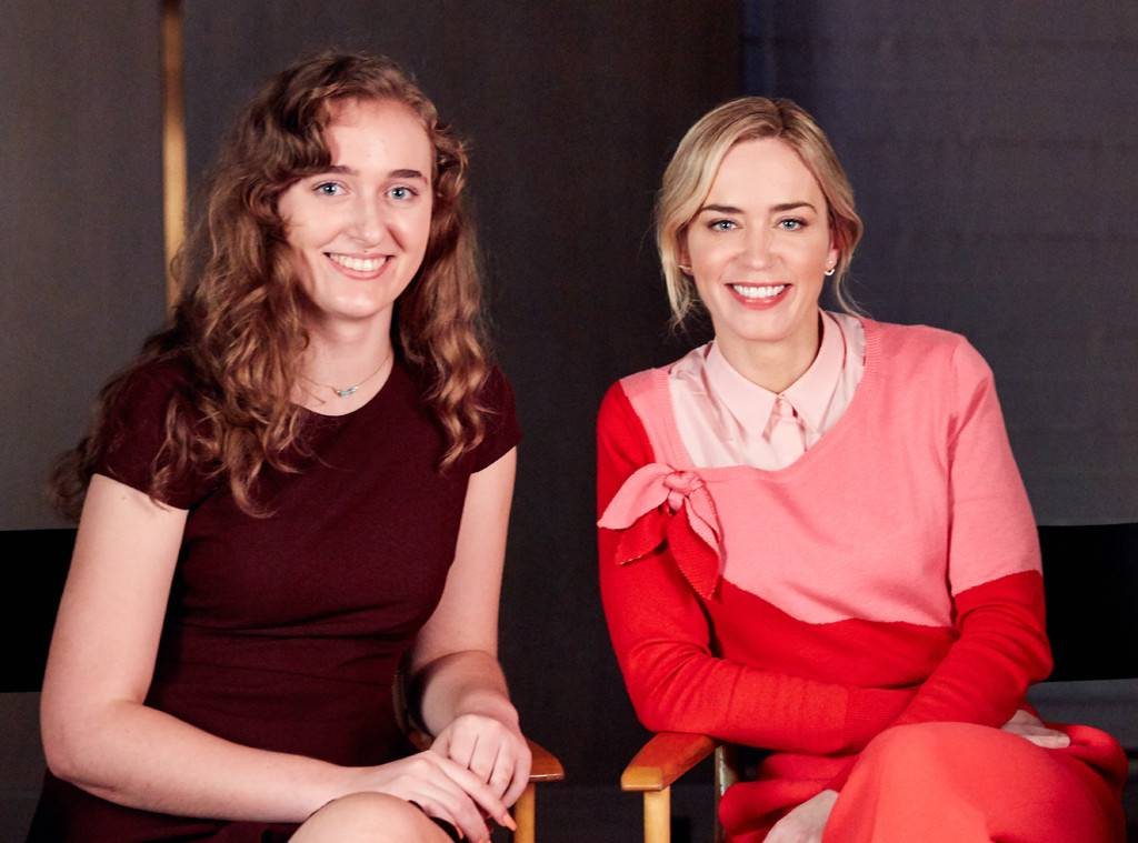 Emily Blunt Shares Powerful Message To Girls