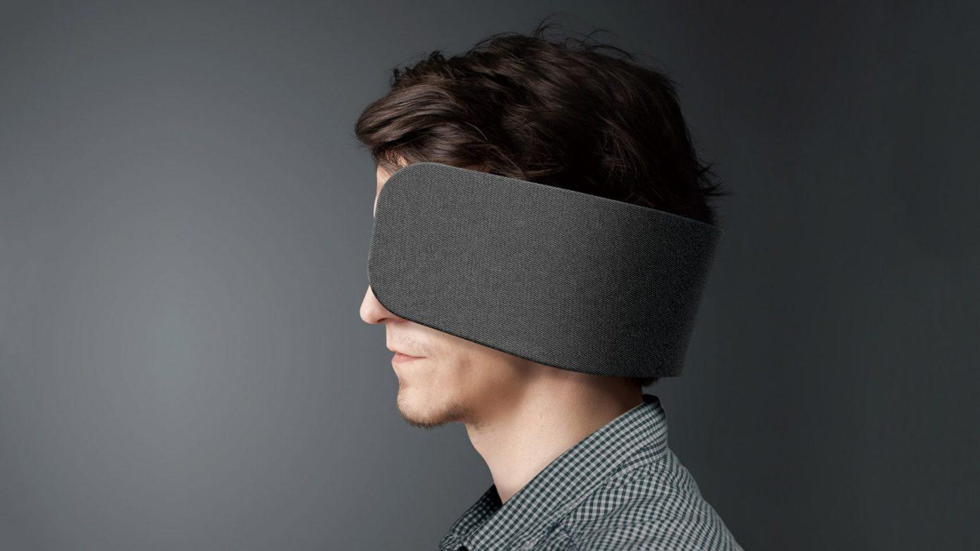 New Product Blocks Your Ears and Peripheral Vision
