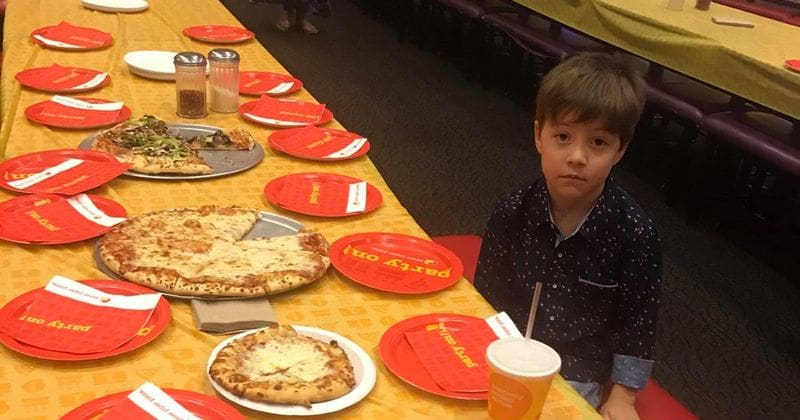 Nobody Came to a Six-Year-Old's Birthday Pizza Party and He's Going VIRAL!