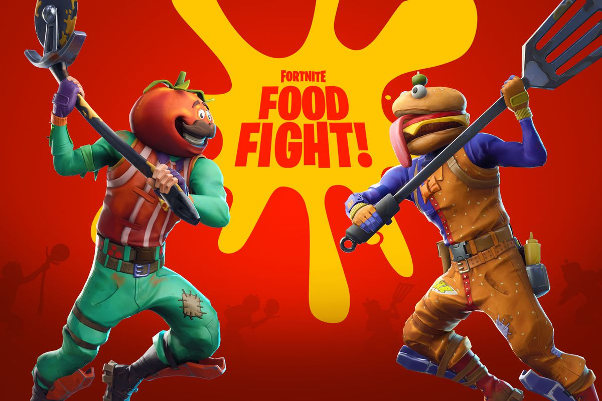 Fortnite's Newest Update is Bringing Food Fights