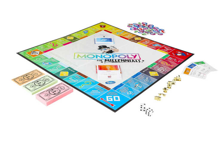 Is This For Real? Monopoly for Millennials! YEP!!!!