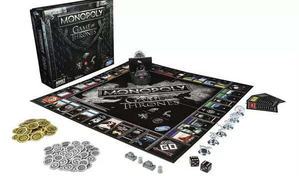 Game of Thrones Monopoly Plays the Theme Song While You Play