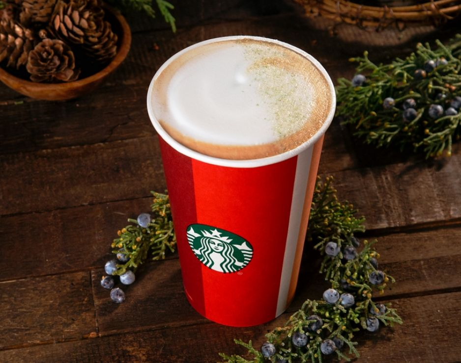 Starbucks Has a New Drink That Tastes Like a Christmas Tree
