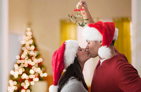 Does Kissing Under the Mistletoe Count as Cheating?