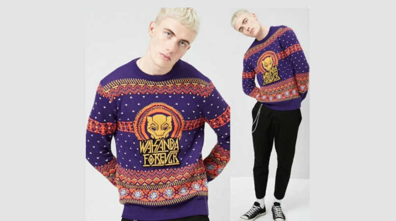 Forever21 Apologizes After Using White Model To Promote Black Panther Sweaters