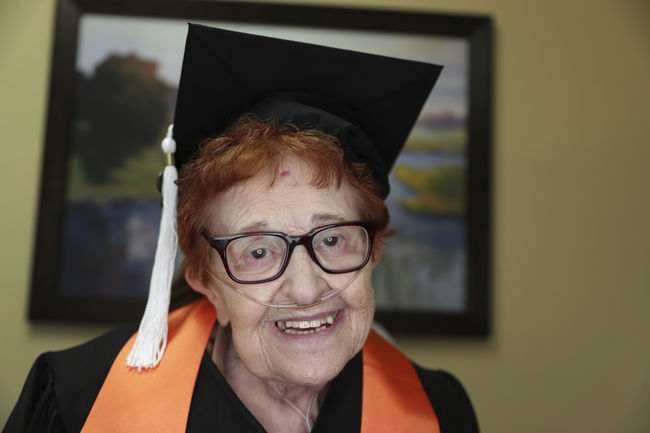 An 84-Year-Old Got Her College Degree Because Bingo Was Too Boring