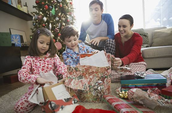 Your Kids Will Wake You Up at 6:44 A.M. on Christmas