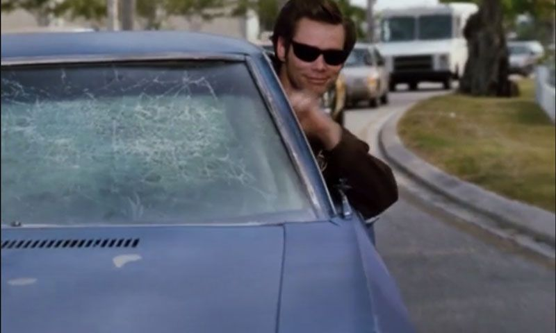 Man Crashed Car Explains Why He Needed To Drive Like 'Ace Ventura'
