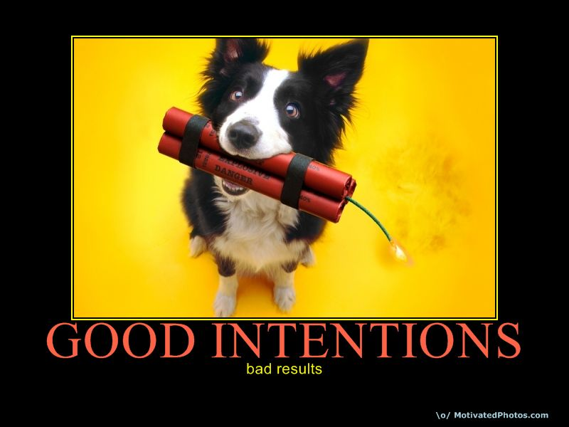 Good Intentions don't always go well - with Dr. Julie Gowthorpe, RSW this morning on Mix97