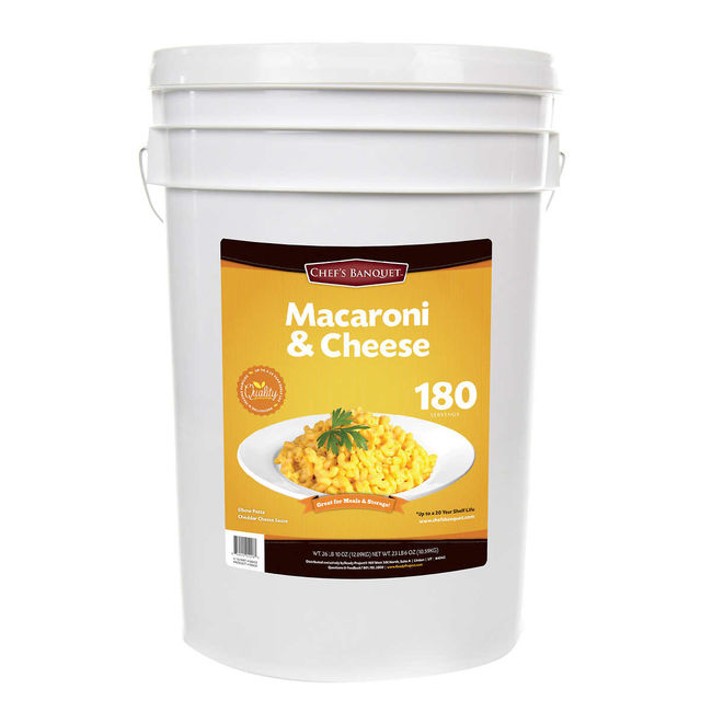 Costco Is Selling a 27-Pound Bucket of Mac & Cheese