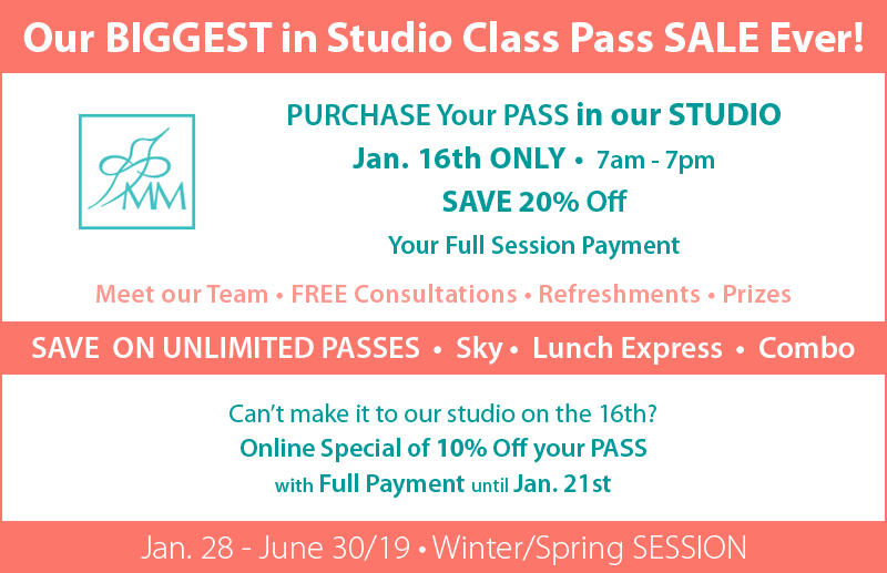 Mindful Movements Biggest Studio Class Pass sale