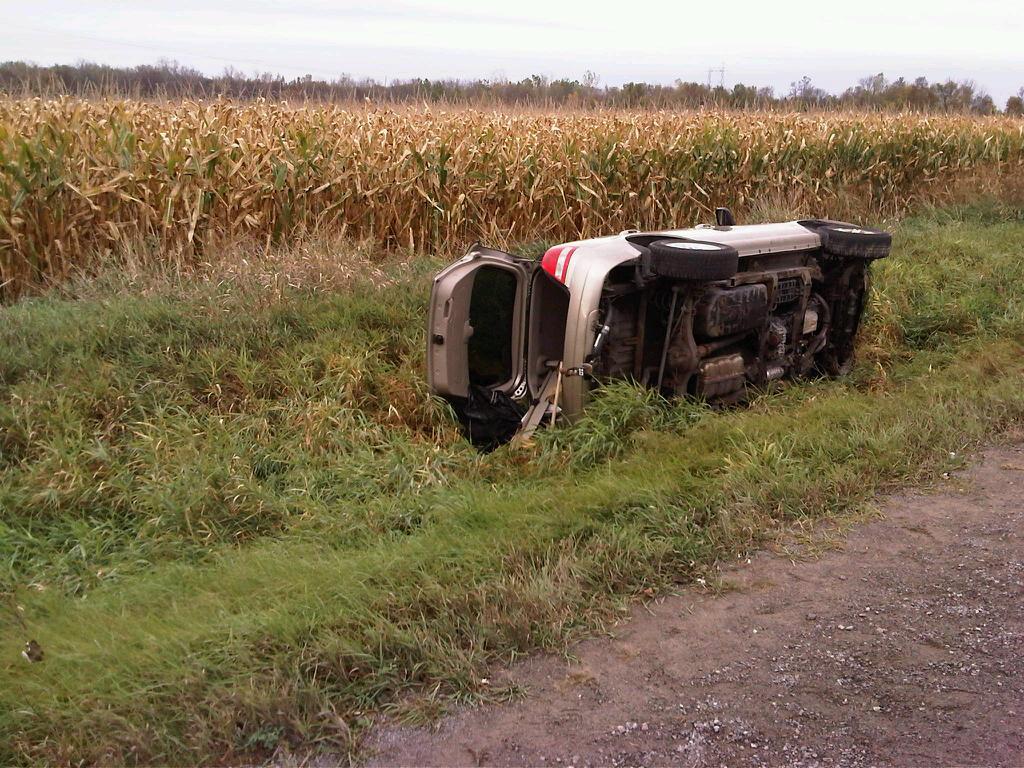 Deseronto Vehicle Rollover