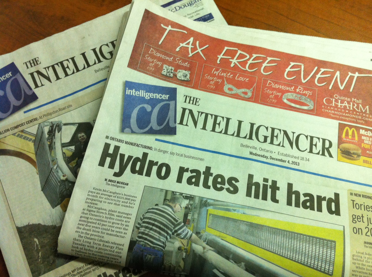 More layoffs in local print media