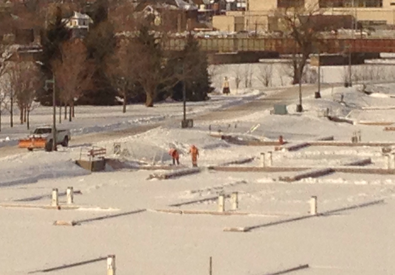 City staff monitoring ice quality