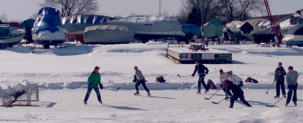 Belleville outdoor rinks still closed
