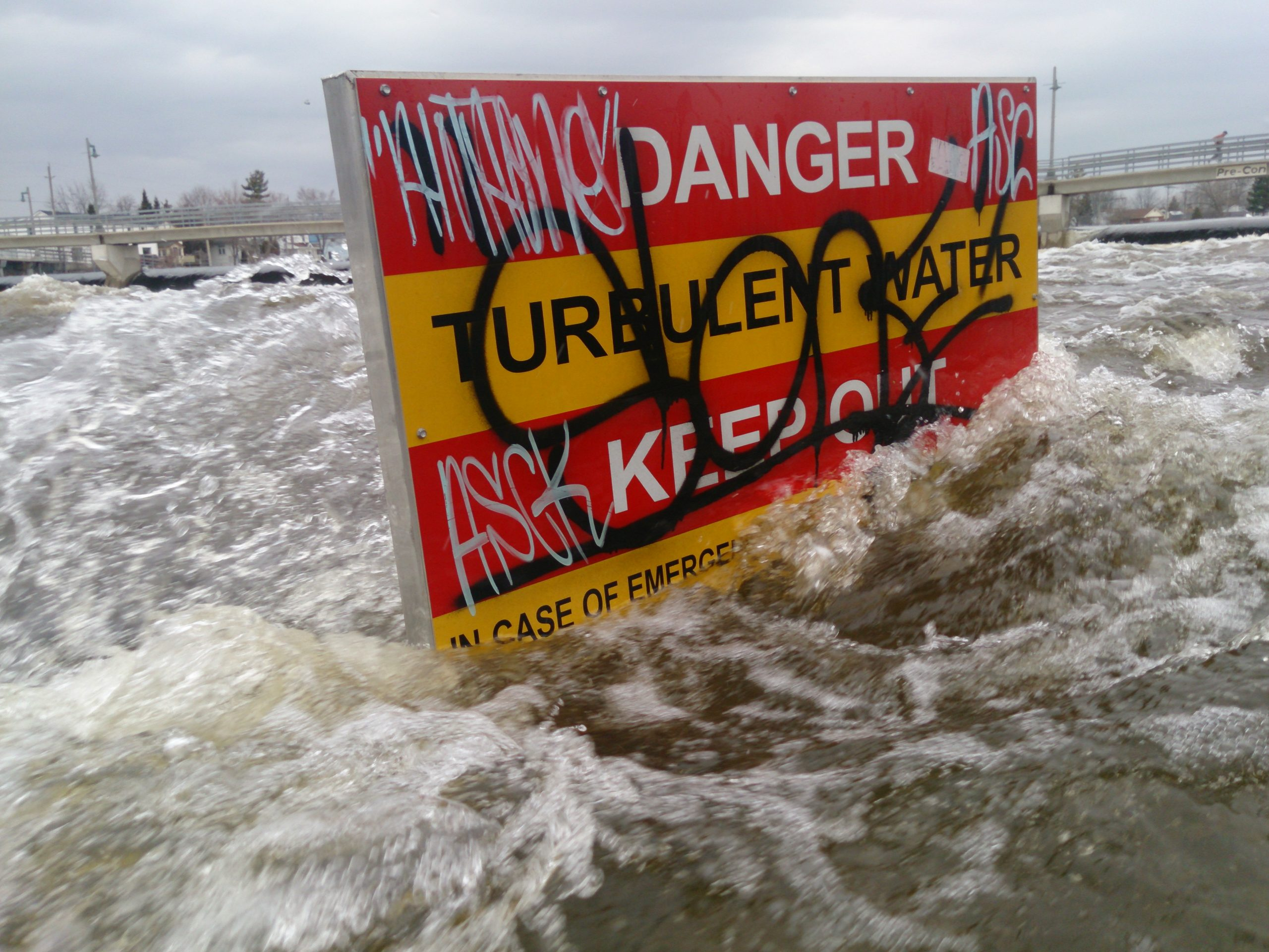 Lake Ontario water levels rise as Trent River drops