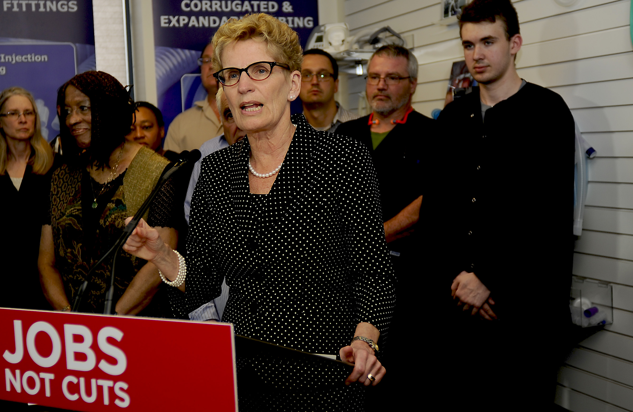 Power talk with Premier Wynne