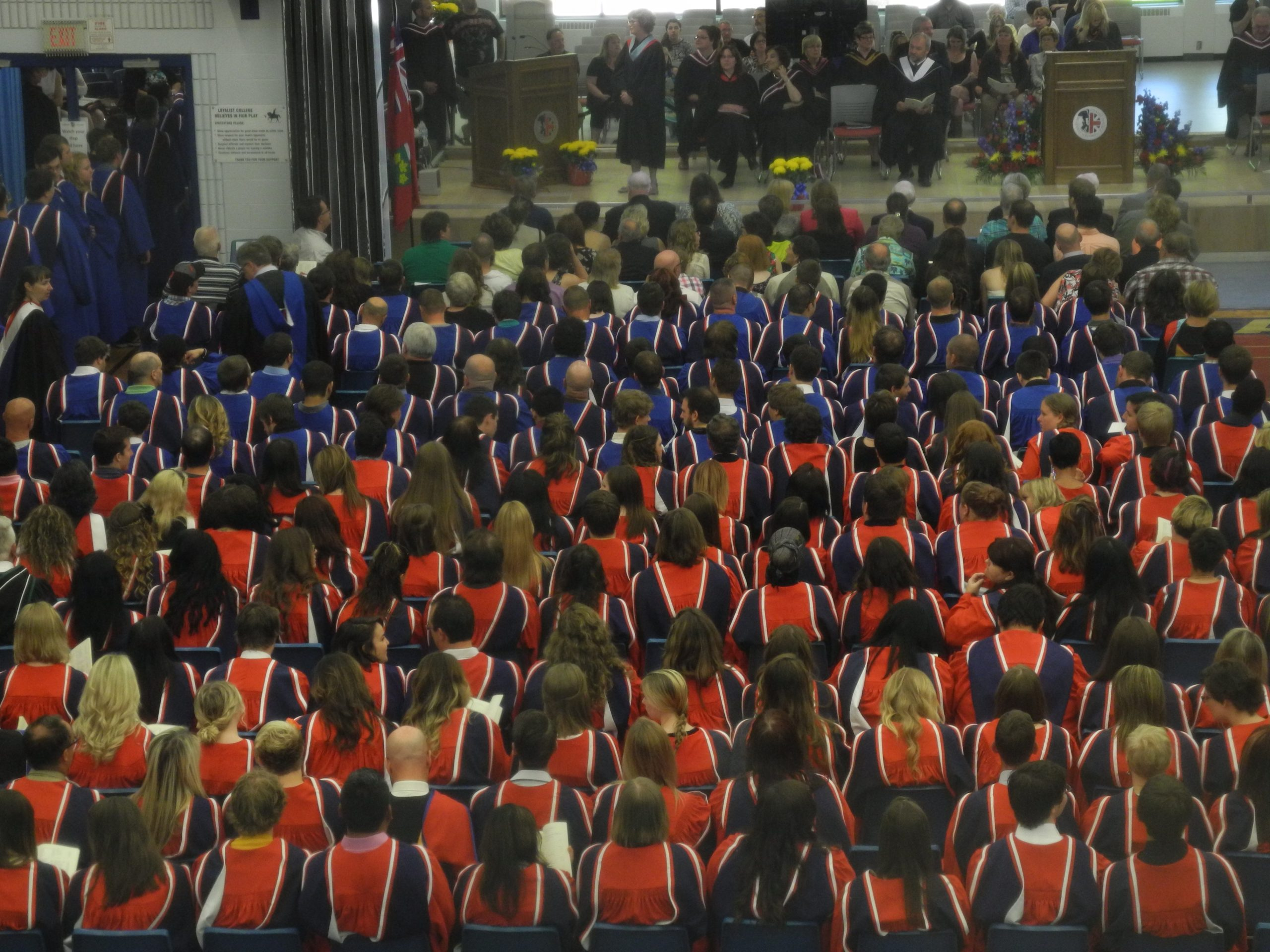 Pomp and circumstance at Loyalist's 50th convocation