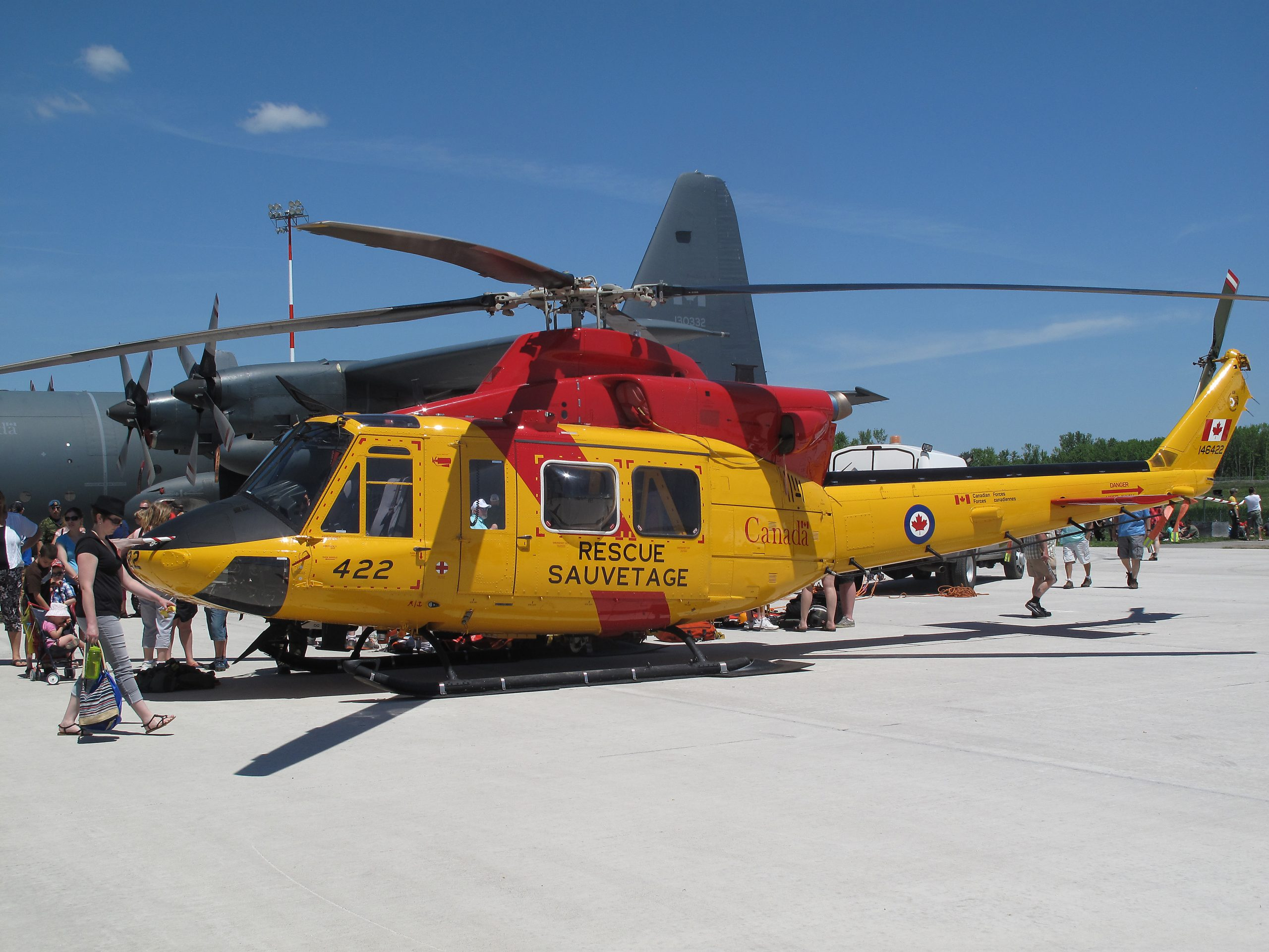 424 Squadron assists in medical evacuation