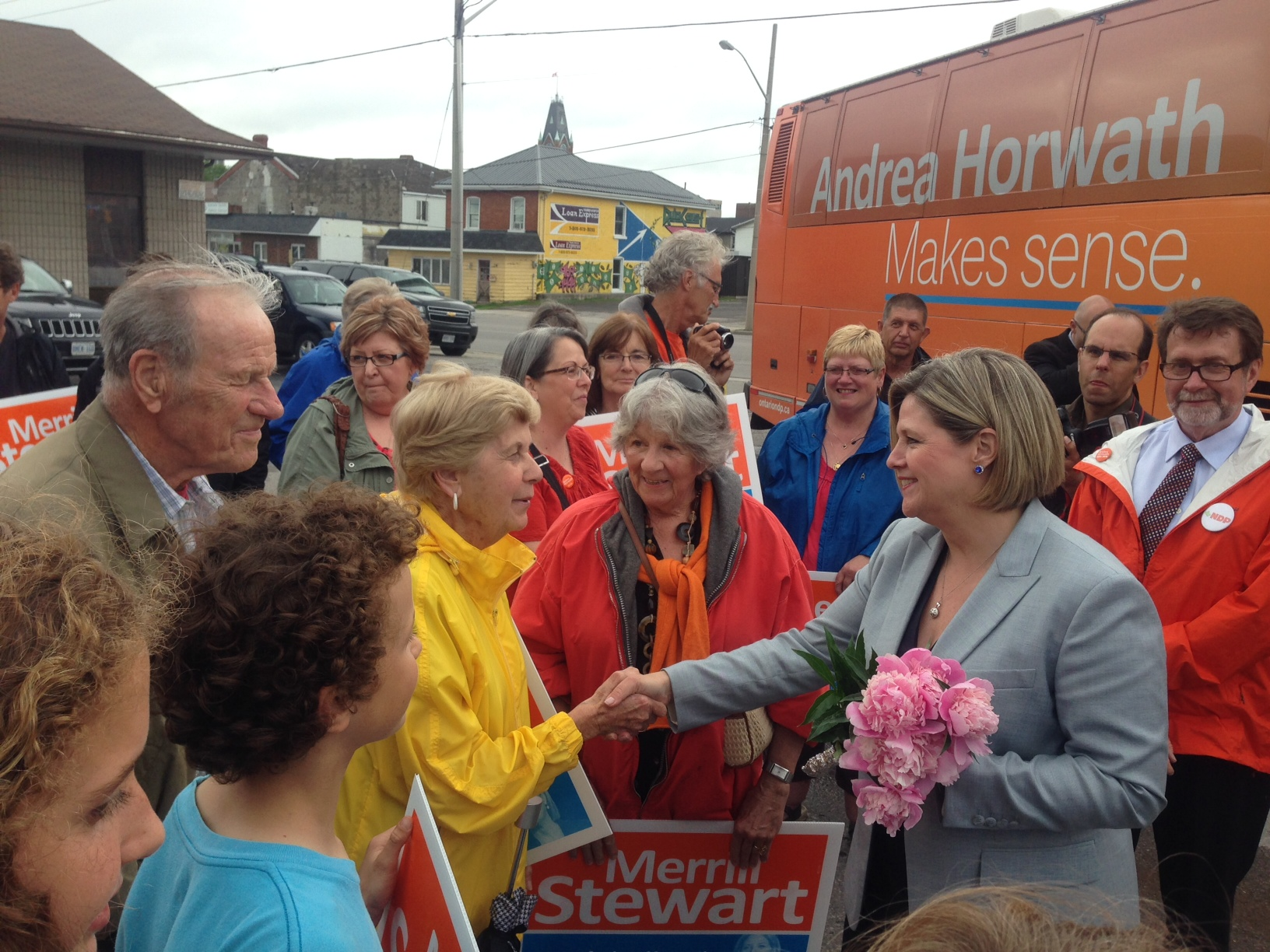 Horwath talks dental plan, the Liberals, and the election