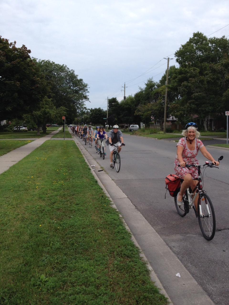 Bike month begins
