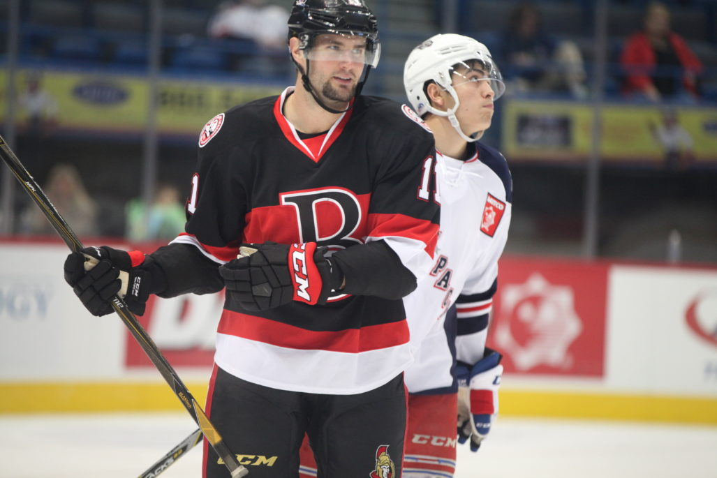 Blunden and Randell leaving B-Sens